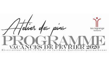 Atelier artisanal à Narbonne pour vos vacances de février !