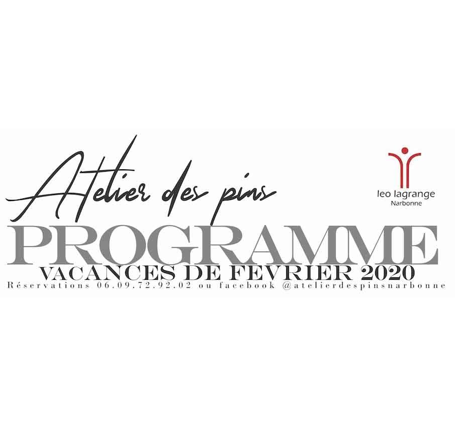 L'atelier des pins à Narbonneorganise des ateliers destinés aux familles et aux […]